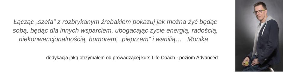 Dedykacja coaching