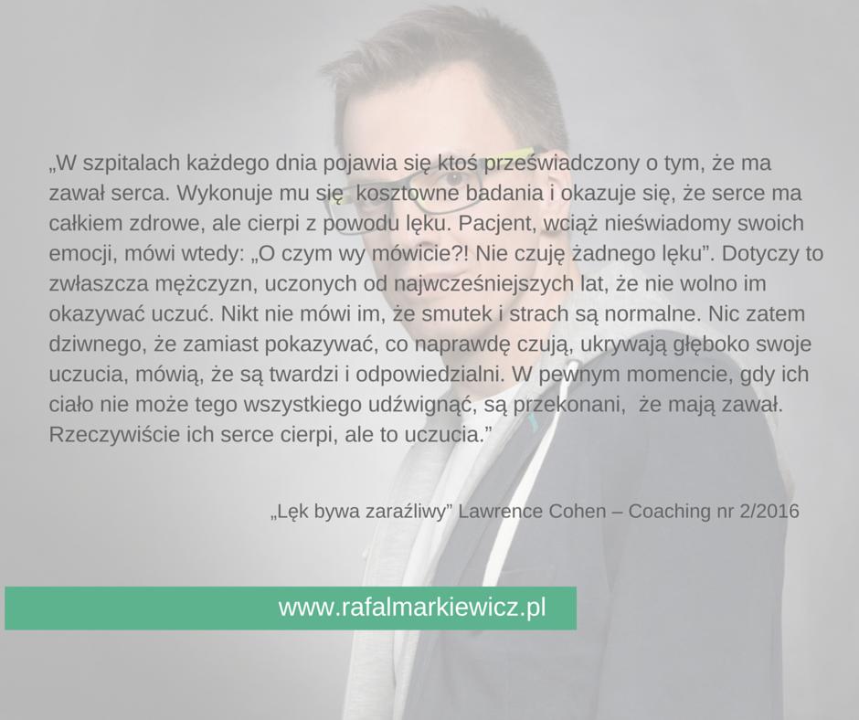 Rafał Markiewicz- coach - Uczucia