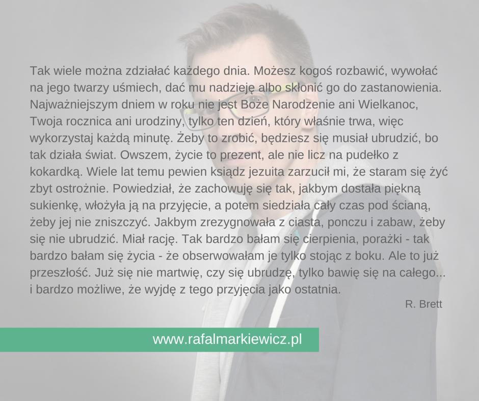 Rafał Markiewicz - coach - żyję