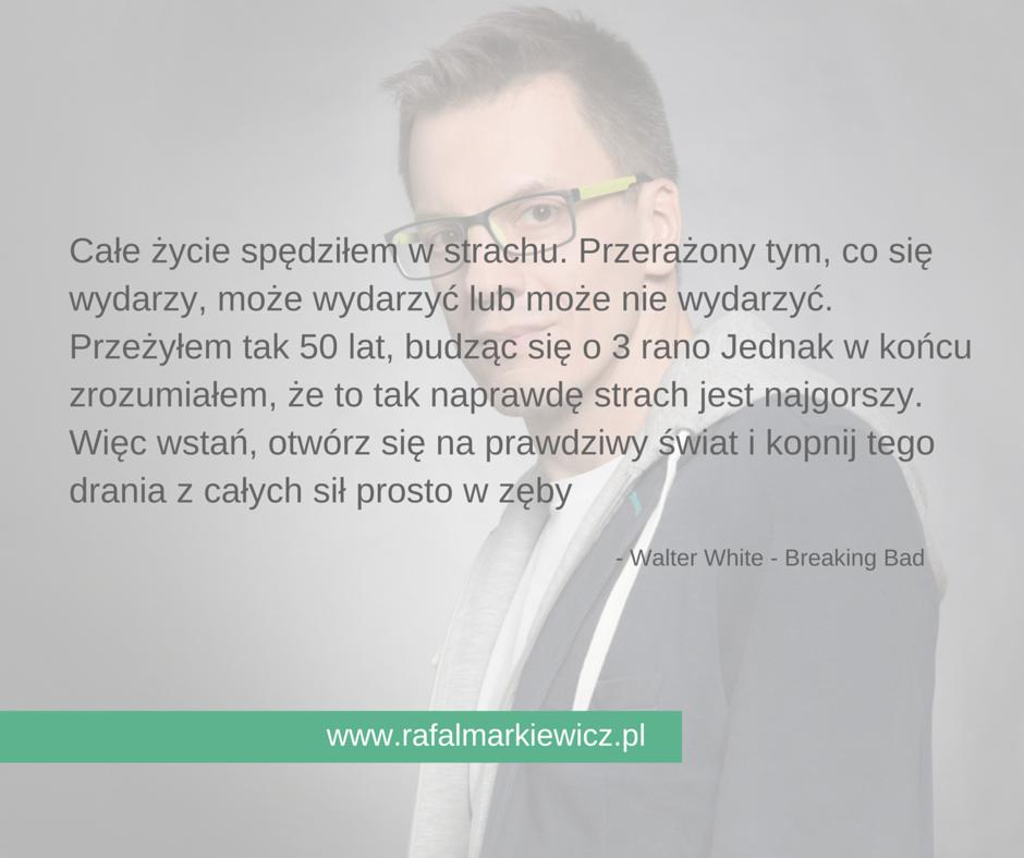 Rafał Markiewicz - gdynia - gdańsk - coach - strach