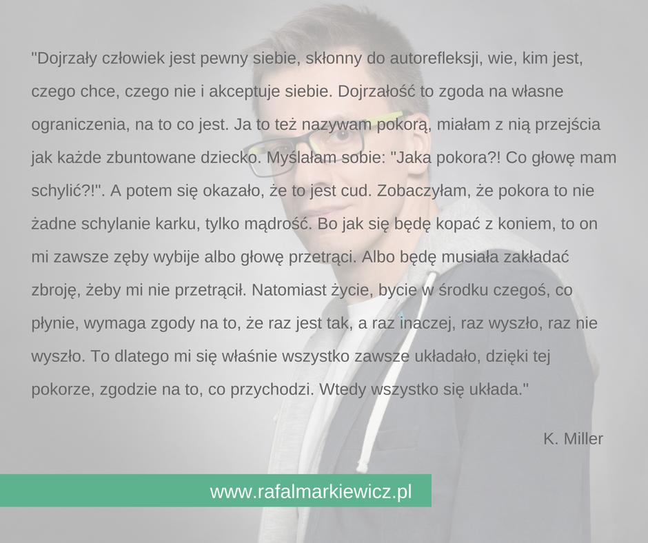 Rafał Markiewicz - gdynia - gdańsk - coach - pokora