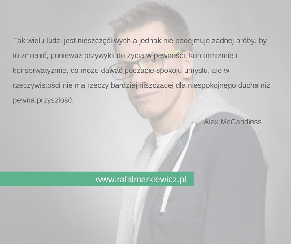 Rafał Markiewicz - coach - nieszczęśliwi