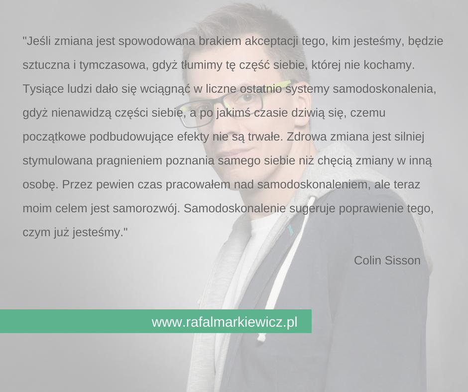Rafał Markiewicz - coach - coaching - zmiana