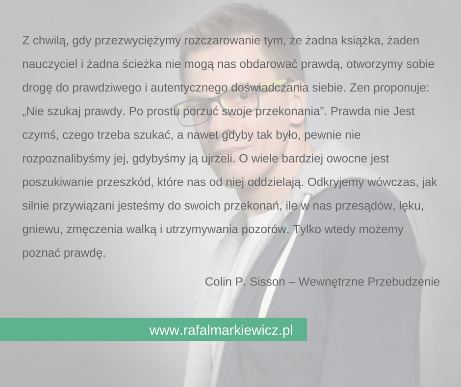 Rafał Markiewicz - coach - coaching - wewnętrzne przebudzenie