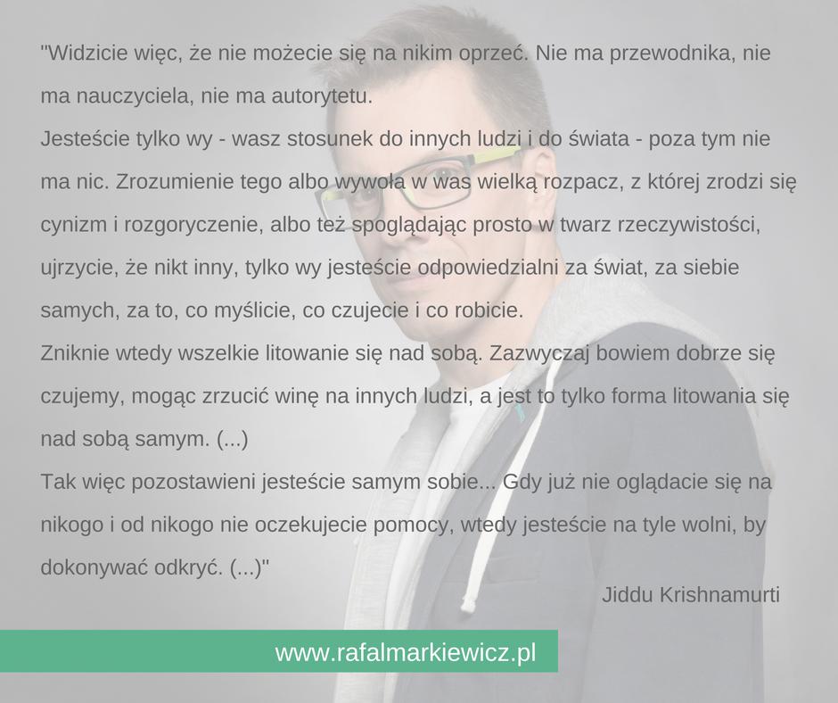 Rafał Markiewicz - coach - coaching - wykreuj własne życie