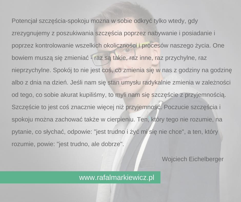 Rafał Markiewicz - coach - coaching - potencjał szczęścia