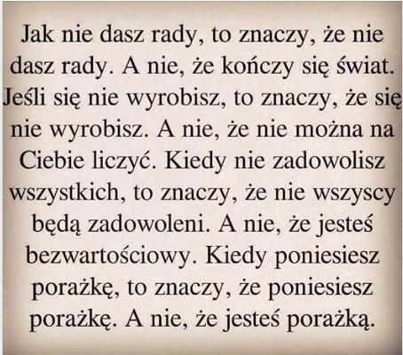 Rafał Markiewicz - coach - coaching - rozwój osobisty - to nie znaczy