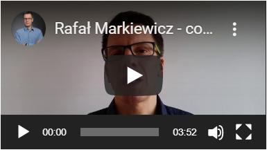 Rafał Markiewicz - coach - coaching - rozwój osobisty - Youtube-poznaj mnie i moje usługi