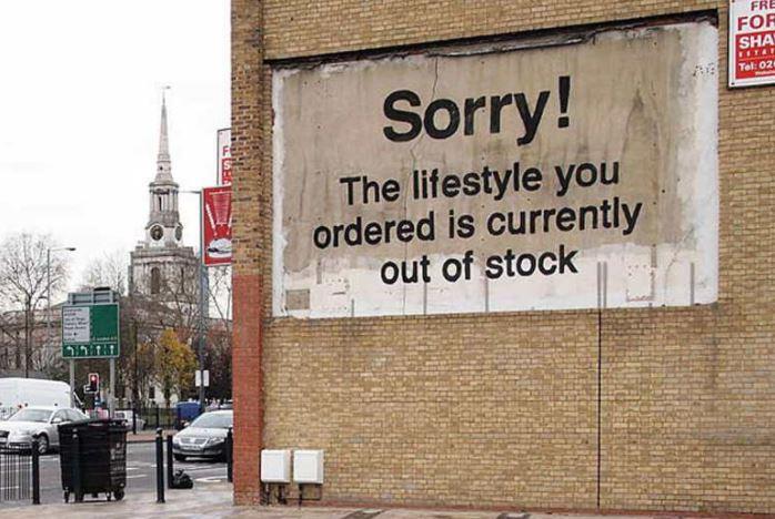 Banks'y Londyn